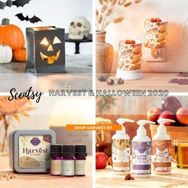 SCENTSY HARVEST HALLOWEEN 2020 COLLECTION | SHOP 9/1/20