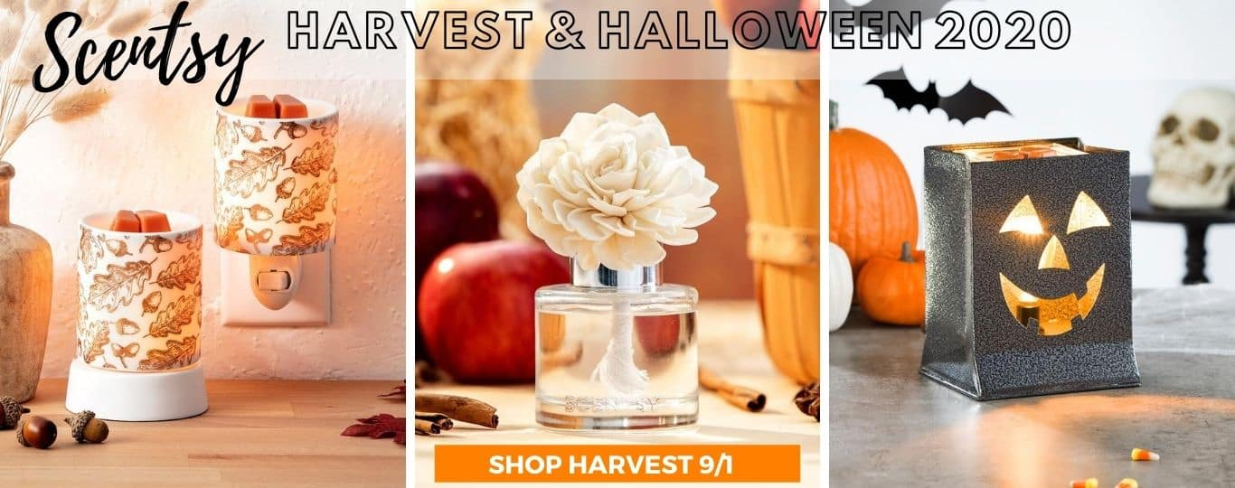 SCENTSY HARVEST HALLOWEEN COLLECTION 2020