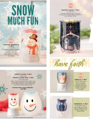 SCENTSY HOLIDAY 2019 COLLECTION PAGE 2