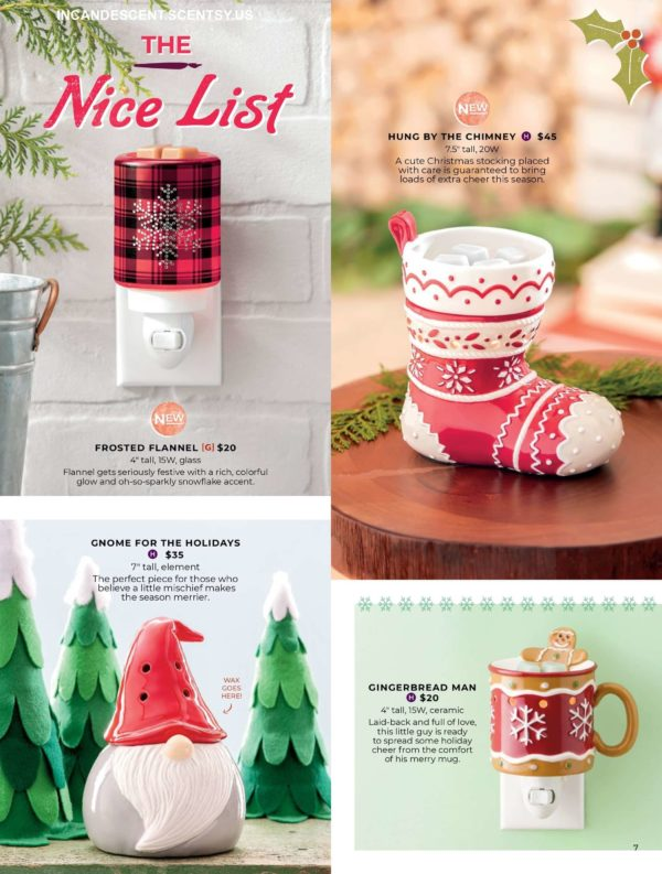 SCENTSY HOLIDAY 2019 COLLECTION PAGE 3