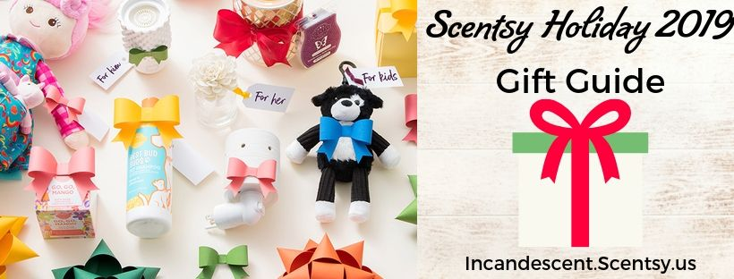 SCENTSY HOLIDAY 2019 GIFT GUIDE