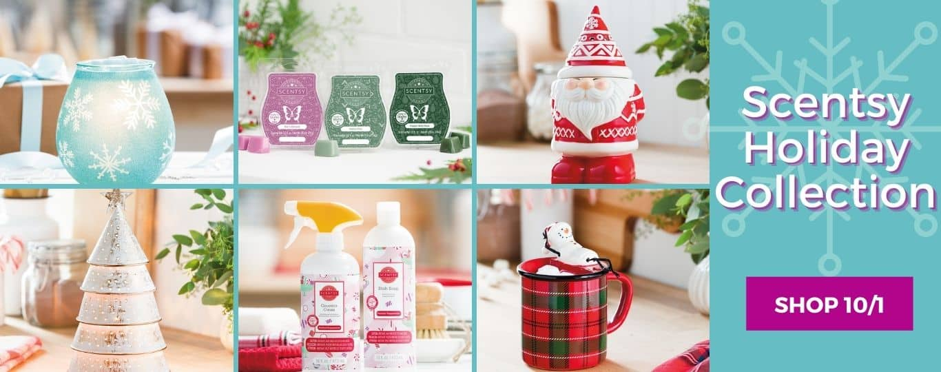 SCENTSY HOLIDAY 2020 COLLECTION SHOP OCTOBER 1