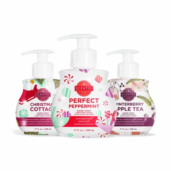 SCENTSY HOLIDAY 2020 HAND SOAPS