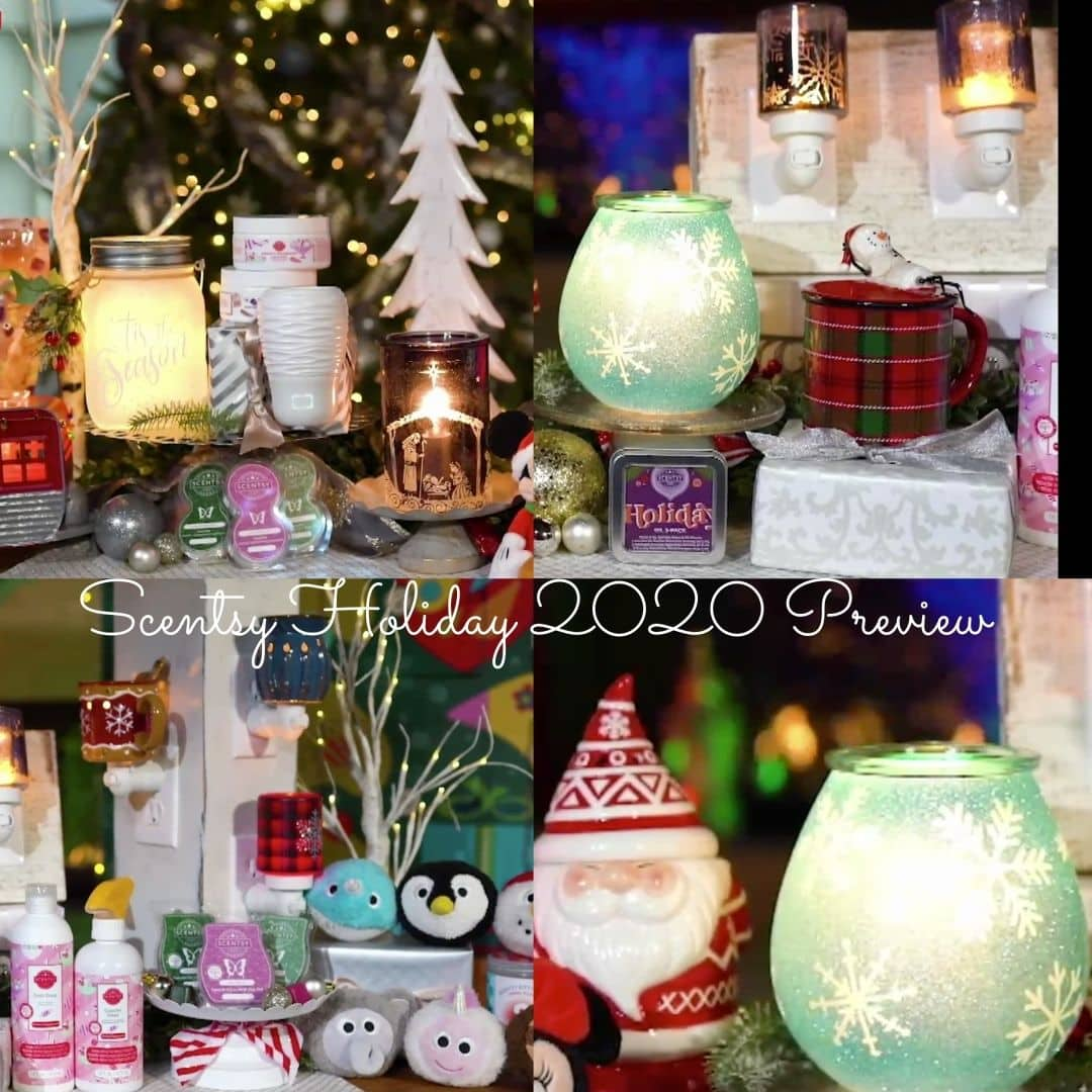 SCENTSY HOLIDAY 2020 PREVIEW COMING SOON