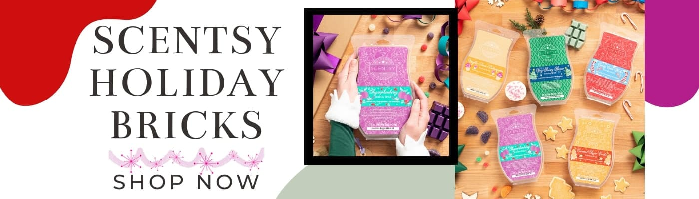 SCENTSY HOLIDAY BRICKS 2019 INCANDESCENT