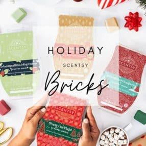 SCENTSY BRICKS HOLIDAY/CHRISTMAS 2020