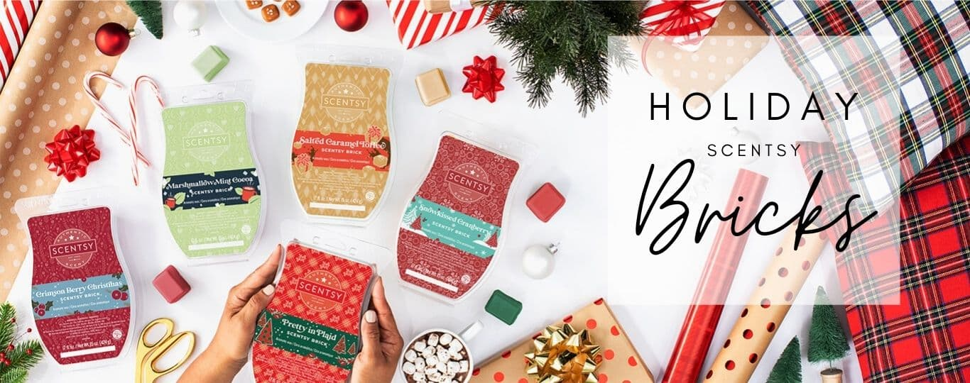 SCENTSY HOLIDAY BRICKS