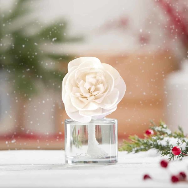SCENTSY HOLIDAY FRAGRANCE FLOWER CHRISTMAS COTTAGE AND VERY SNOWY SPRUCE