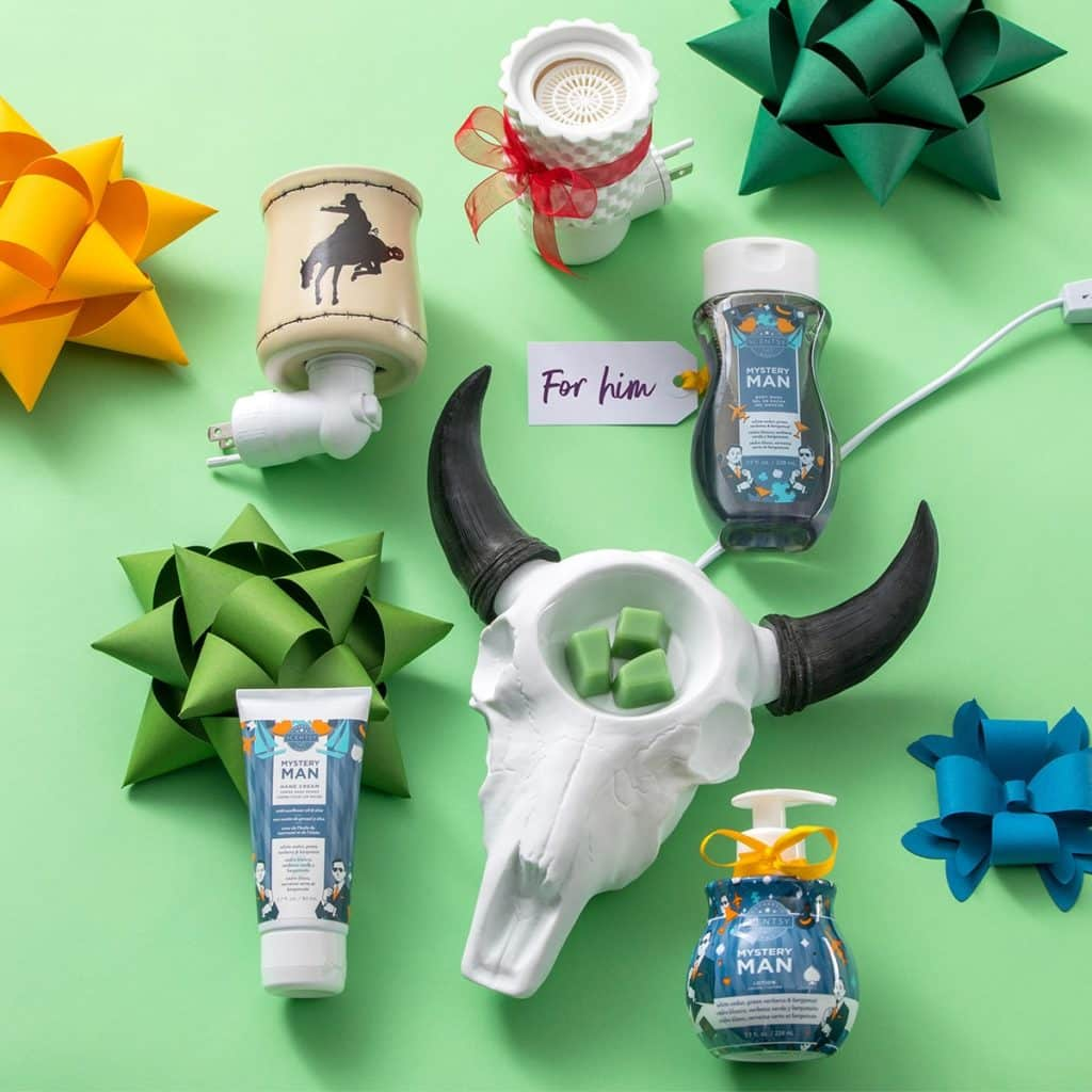 SCENTSY HOLIDAY GIFT GUIDE FOR HIM
