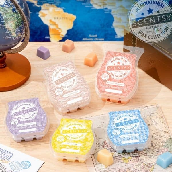 SCENTSY INTERNATIONAL WAX COLLECTION | SHOP FRAGRANCES FROM DIFFERENT REGIONS 7/13/20