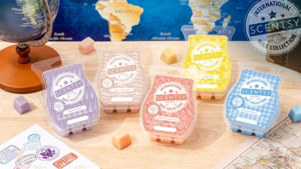 SCENTSY INTERNATIONAL WAX COLLECTION