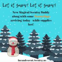 SCENTSY OLAF BUDDY AND SCENTSY OLAF WARM HUGS FRAGRANCE
