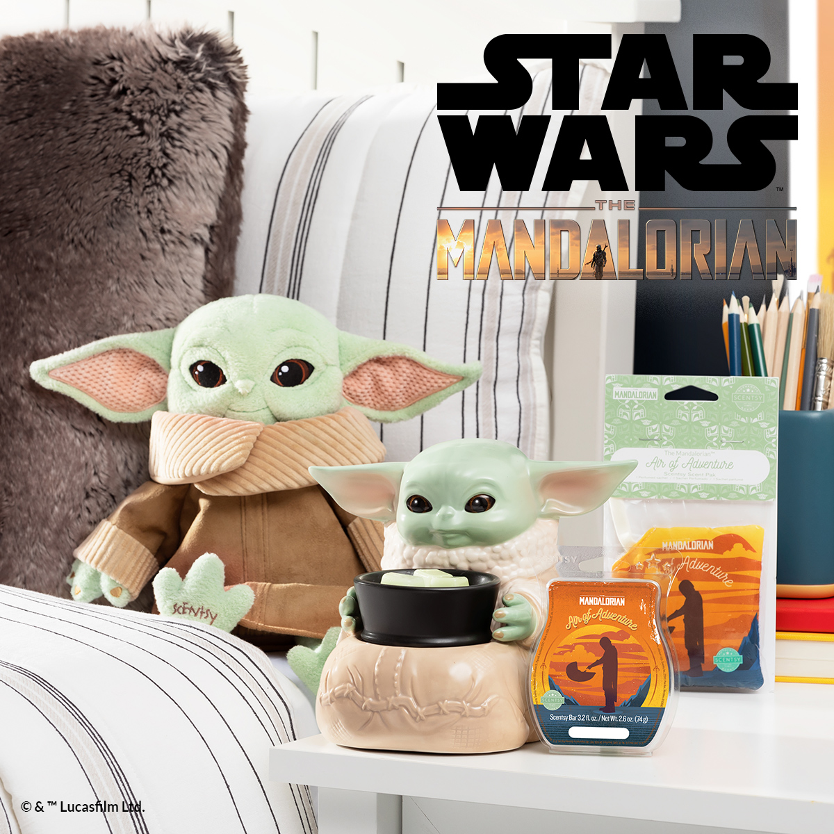 Baby Yoda The Child Scentsy Buddy & Warmer Presale  | Star Wars The Mandalorian