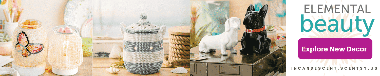 SCENTSY NEW WAX WARMERS DIFFUSERS 2019