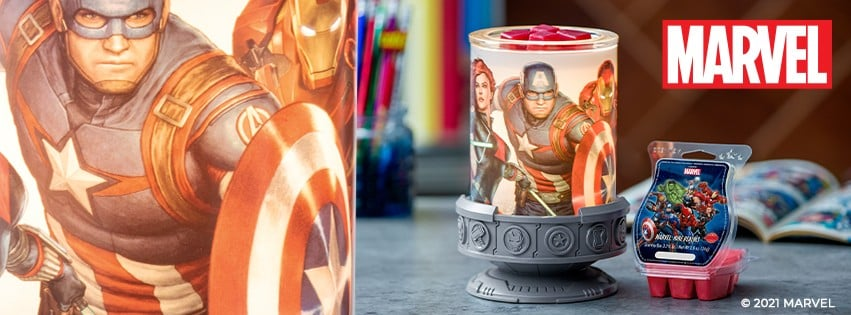 SCENTSY MARVEL 2021 BANNER