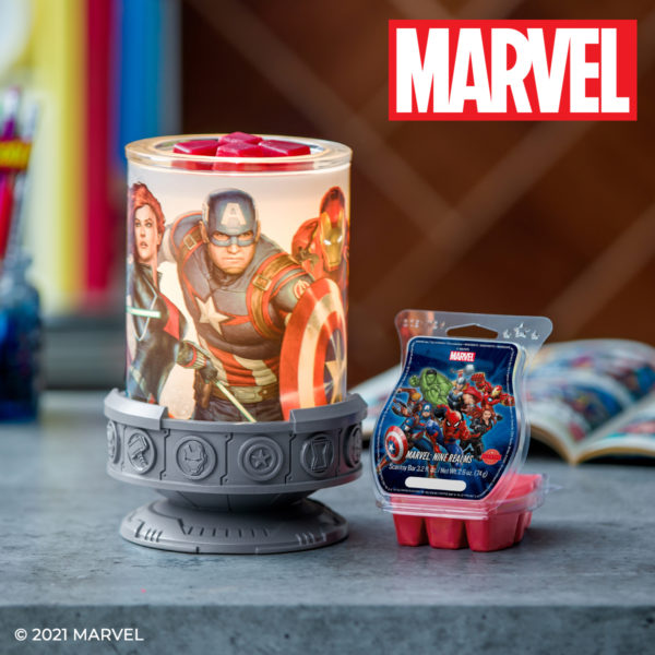 SCENTSY MARVEL WARMER   NEW! MARVEL SCENTSY WARMER   SPRING 2021   Incandescent.Scentsy.us