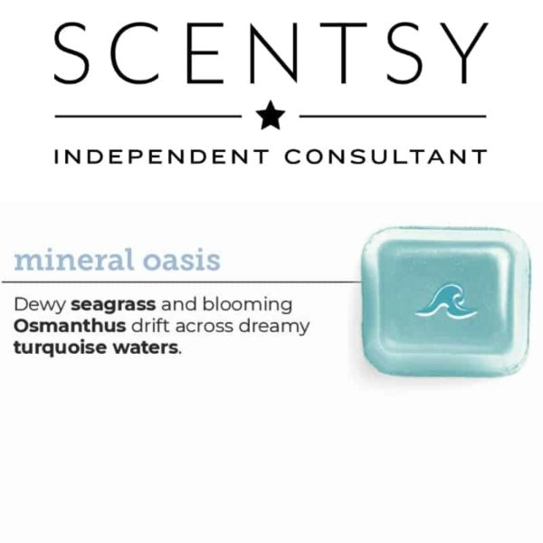 SCENTSY MINERAL OASIS-min | Mineral Oasis Scentsy Bar | Shop Scentsy | Incandescent.Scentsy.us