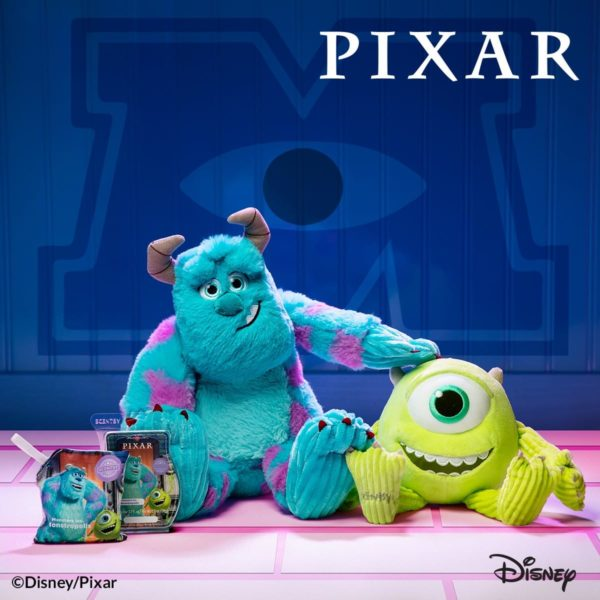 SCENTSY MONSTERS INC COLLECTION MIKE SULLEY