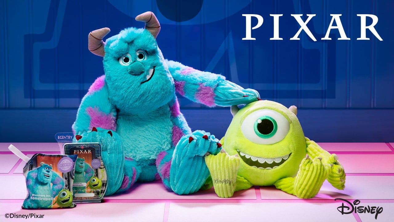 SCENTSY MONSTERS INC COLLECTION