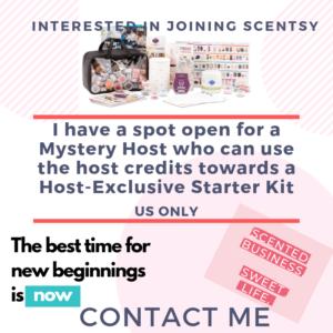 SCENTSY MYSTERY HOST STARTER KIT