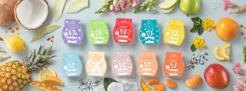 SCENTSY NEW SPRING SCENTS BANNER
