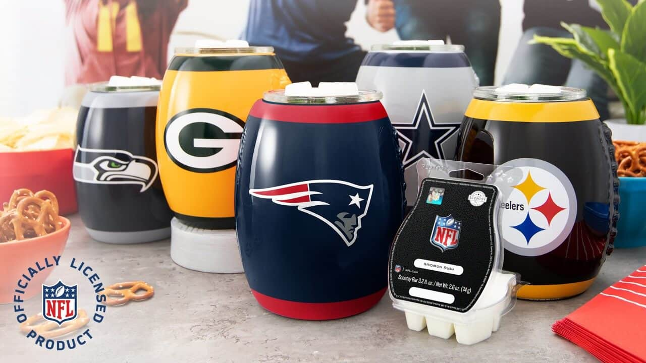 SCENTSY NFL WARMER AND GRIDIRON RUSH BAR 1