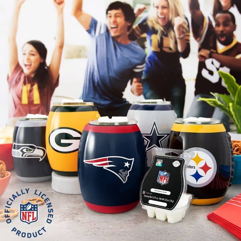SCENTSY NFL WARMERS OCTOBER 26 2020