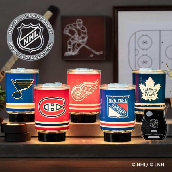 SCENTSY NHL HOCKEY WARMERS