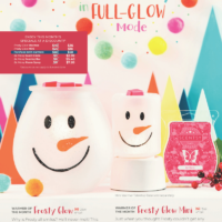 SCENTSY NOVEMBER 2018 WARMERS & SCENT OF THE MONTH - FROSTY GLOW & BE MERRY SCENTSY FRAGRANCE