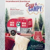 SCENTSY NOVEMBER 2019 SPECIALS - CHRISTMAS CAMPER RV SCENTSY WARMER