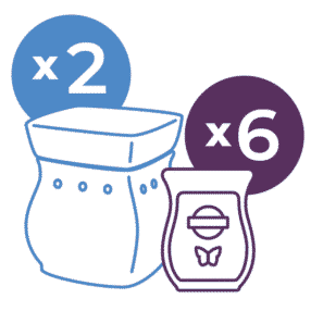 SCENTSY PERFECT SYSTEM 30 BUNDLE SAVE