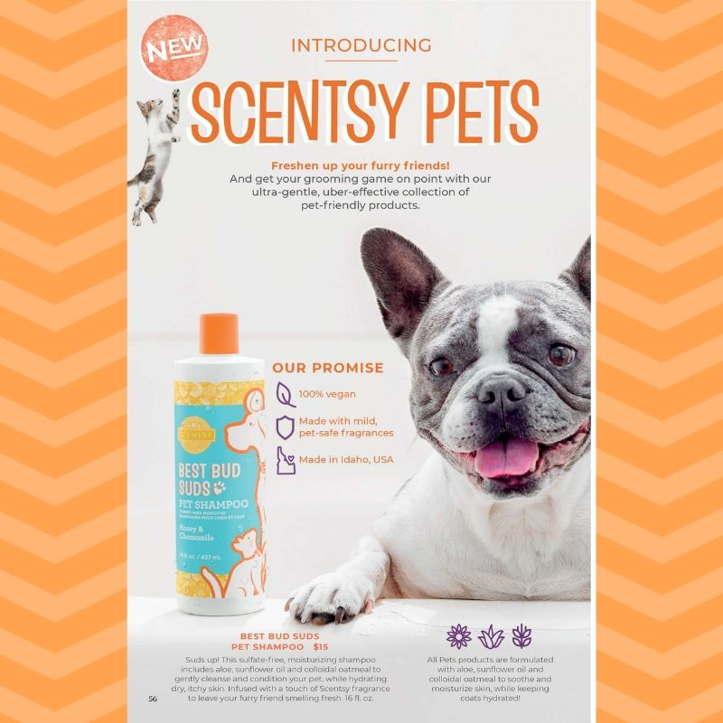 SCENTSY PETS LINE