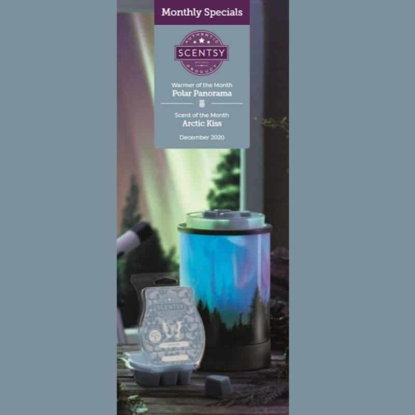 SCENTSY POLAR PANORAMA WARMER DECEMBER 2020 1