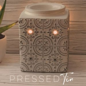SCENTSY PRESSED TIN WARMER