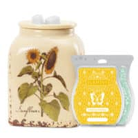 RUSTIC SUNFLOWER SCENTSY WARMER BUNDLE