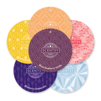 SCENTSY SCENT CIRCLES 6 PACK - BUY 5 GET 1 FREE