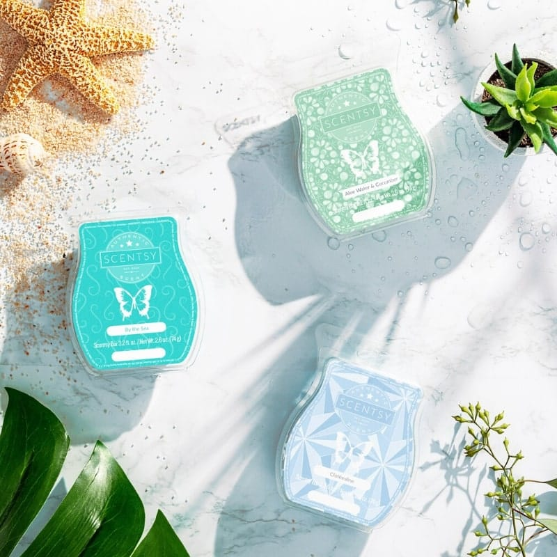SCENTSY SCENTS AND WAX BARS SPRING 2020