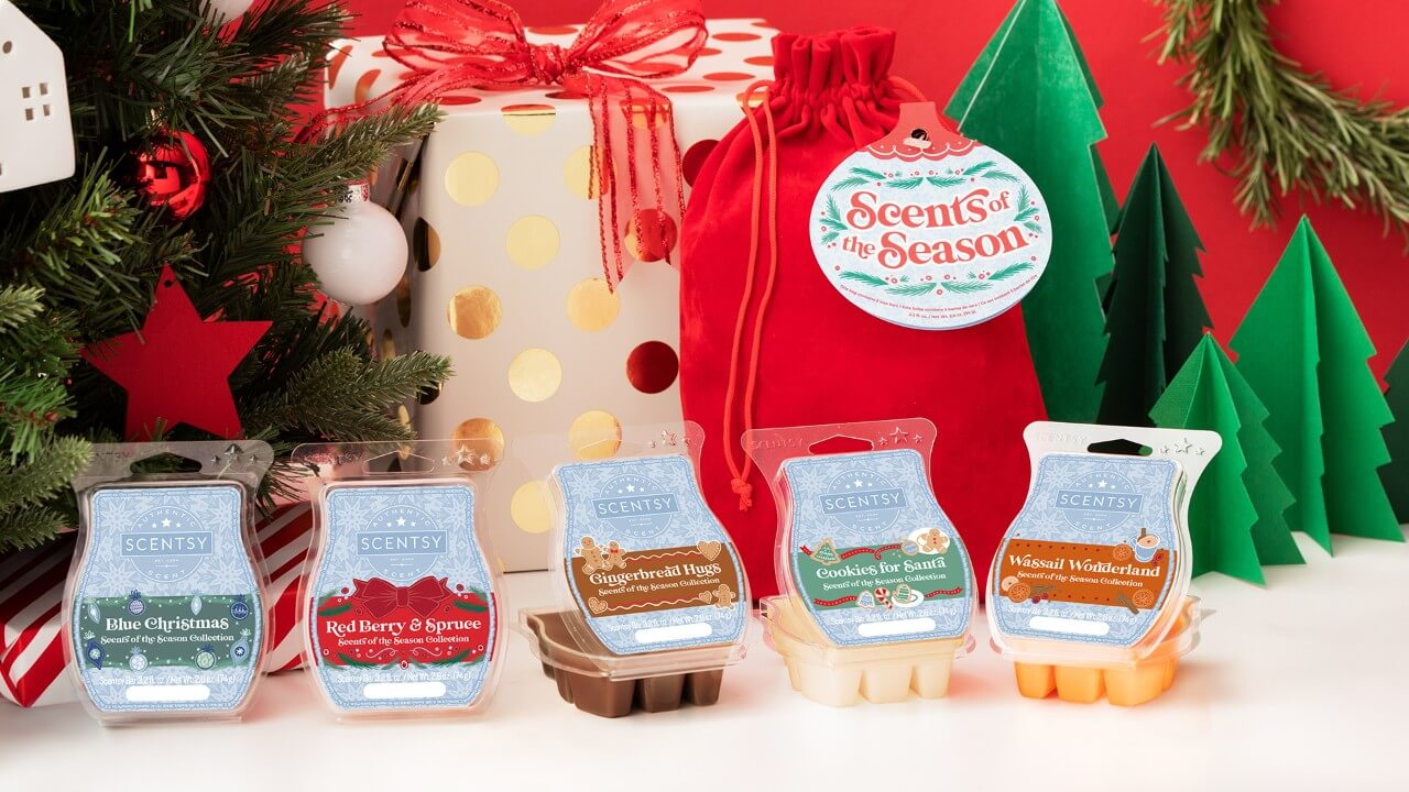 SCENTSY SCENTS OF THE SEASON 2020