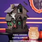 SCENTSY SEPTEMBER 2019 WARMER OF THE MONTH MANIC MANSION