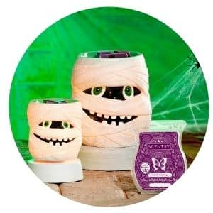 SCENTSY SEPTEMBER WARMER SCENT SHOP NOW