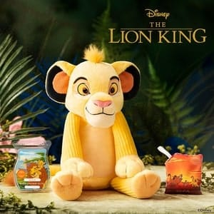 SCENTSY SIMBA BUDDY LION KING CIRCLE OF LIFE