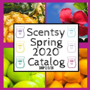 SCENTSY SPRING 2020 CATALOG PREVIEW