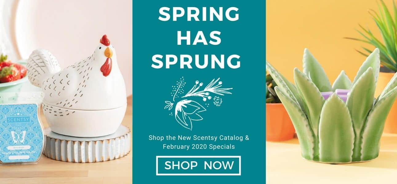 SCENTSY SPRING 2020 SHOP NOW