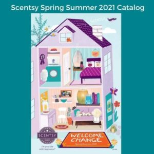 SCENTSY SPRING SUMMER 2021 CATALOG SCENTSY WARMERS, SCENTS & PRODUCTS