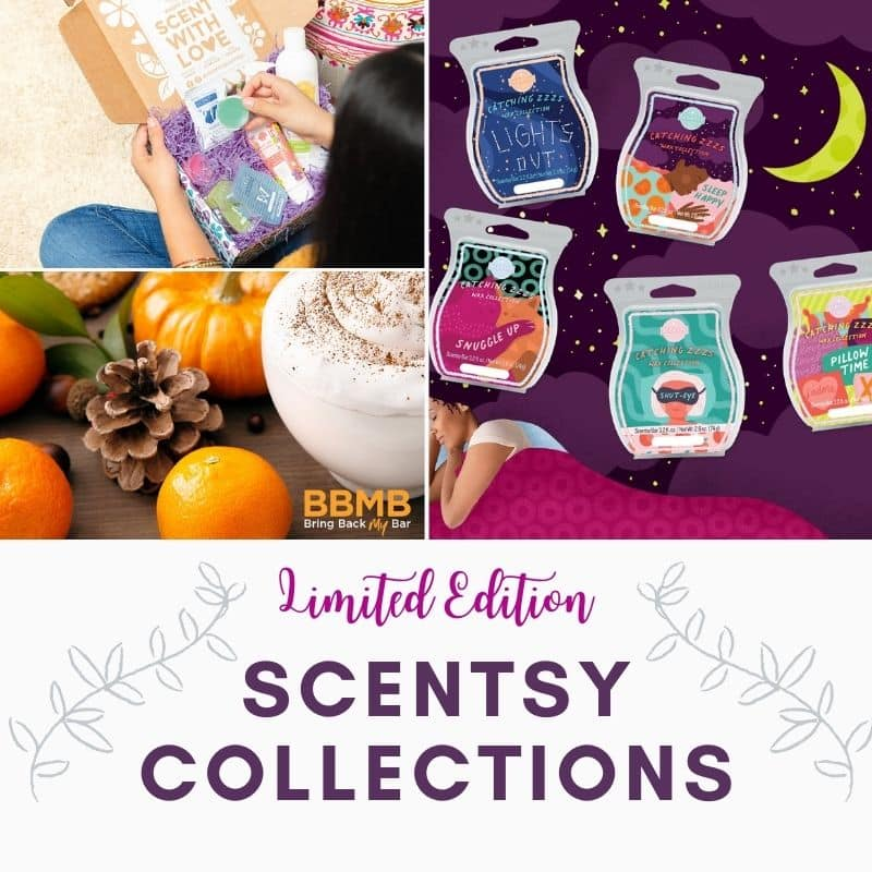 SCENTSY SPRING LIMITED EDITION COLLECTIONS 2021