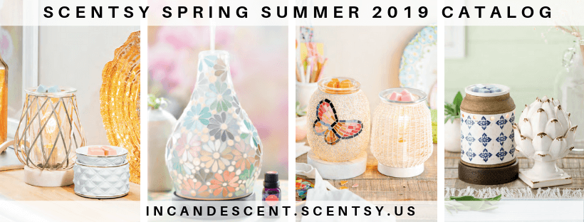 629550c2a1 NEW! SCENTSY SPRING SUMMER 2019 SCENTSY CATALOG PRODUCTS