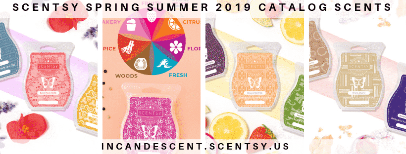 SCENTSY SPRING SUMMER 2019 CATALOG SCENTS & FRAGRANCES