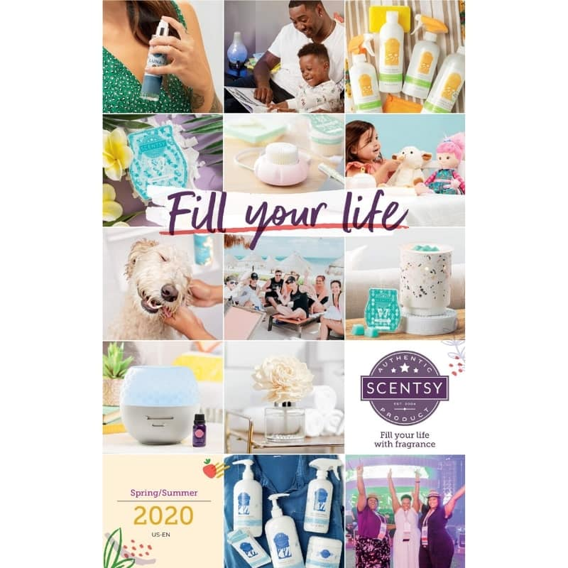 SCENTSY SPRING SUMMER 2020 CATALOG INCANDESCENT