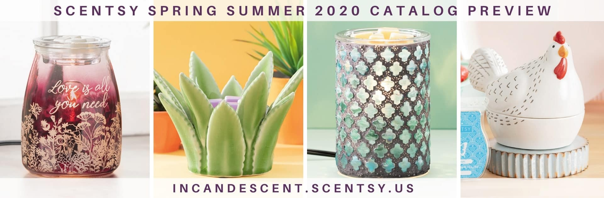 SCENTSY SPRING SUMMER 2020 CATALOG PREVIEW