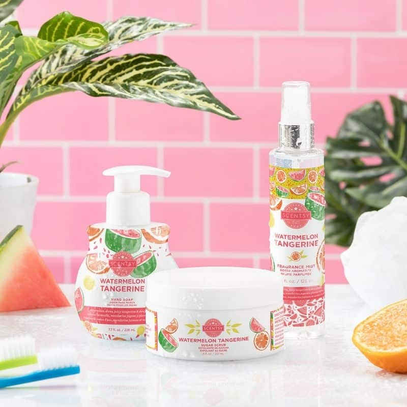 SCENTSY SPRING SUMMER 2021 BODY CARE 1